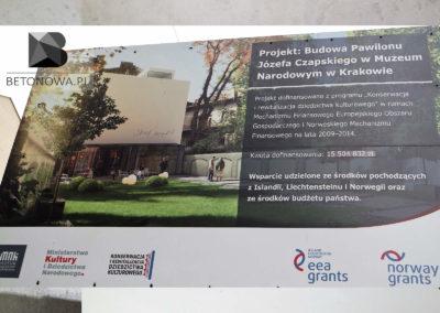 Betonowa Realizacja W Muzeum Narodowym Czapski