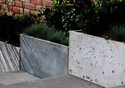 Donice betonowe Do ogrodu i wnetrz