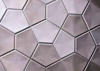 Płytki betonowe 3d Na ściane Łazienki
