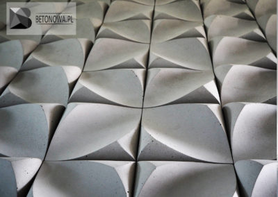 Beton Architektoniczny Plytki 3d Na Scianie