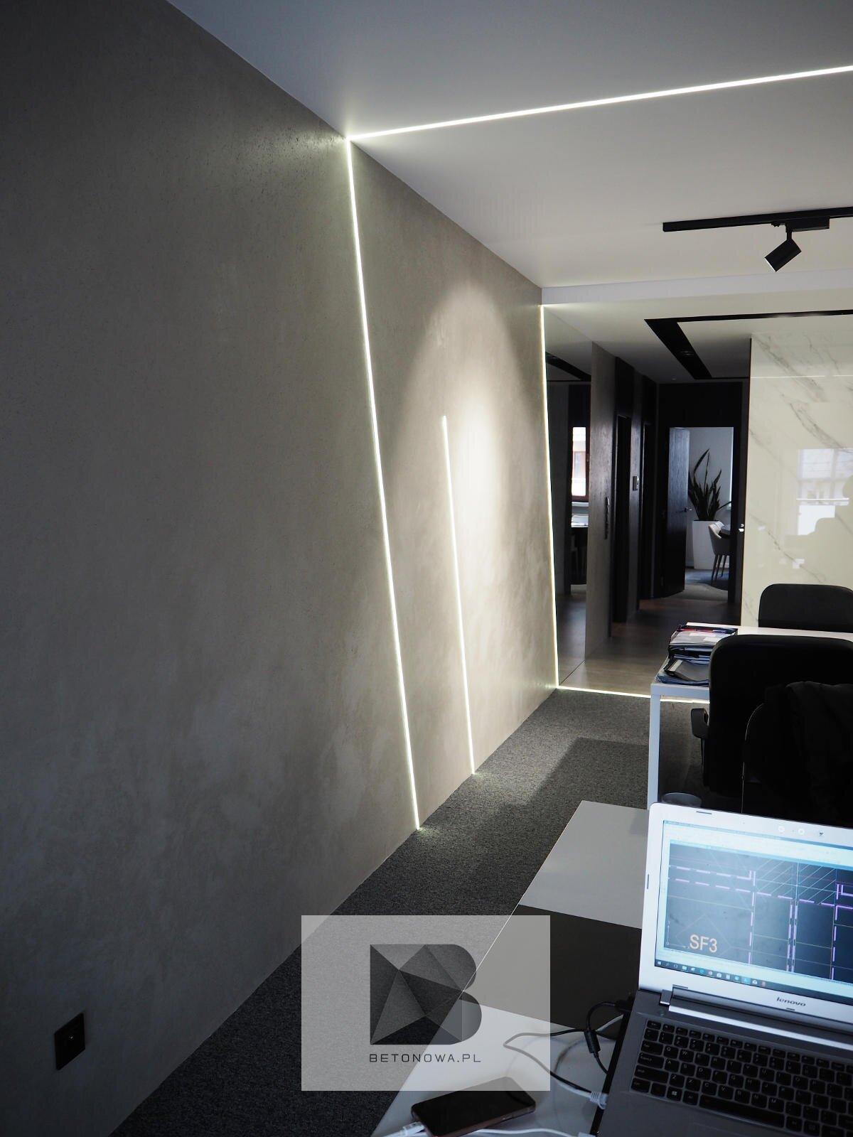 Betonowe Sciany Wnetrza Nowoczesne Biuro Architektoniczne1