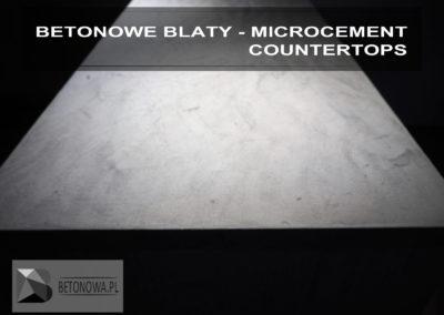 Blaty Betonowe Mikrocement Concrete Countertop Microcement4
