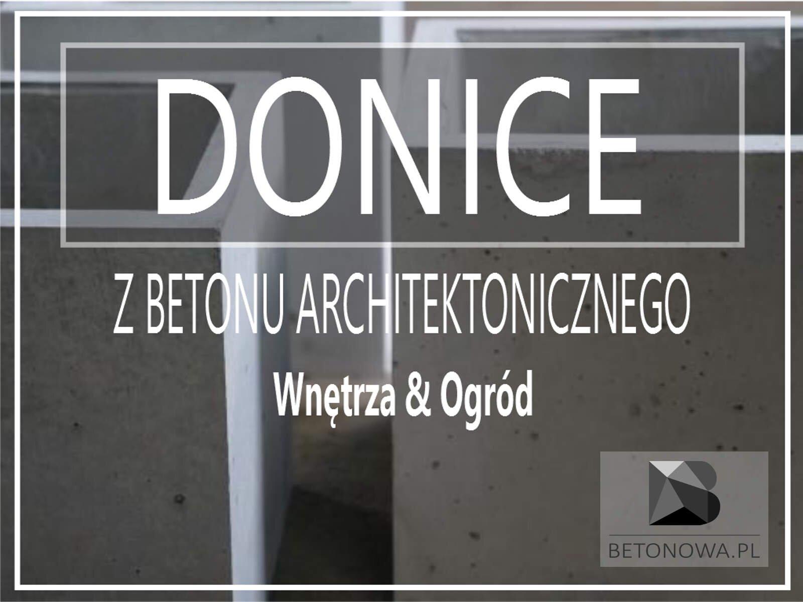 Donice Betonowe Beton Architektoniczny Na Wymiar