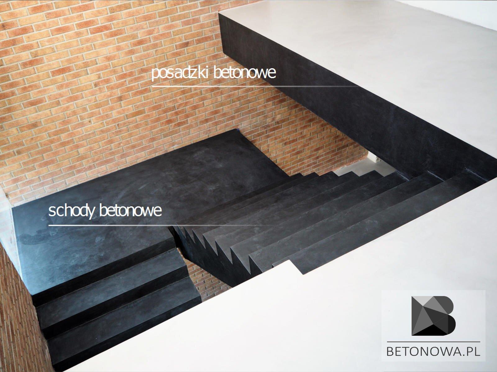 Posadzki Beonowe Schody Mikrocement Beton Dekoracyjny