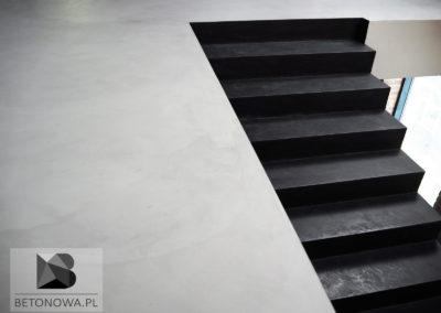 Posadzki Schody Betonowe Mikrocement Realizacja Gliwice