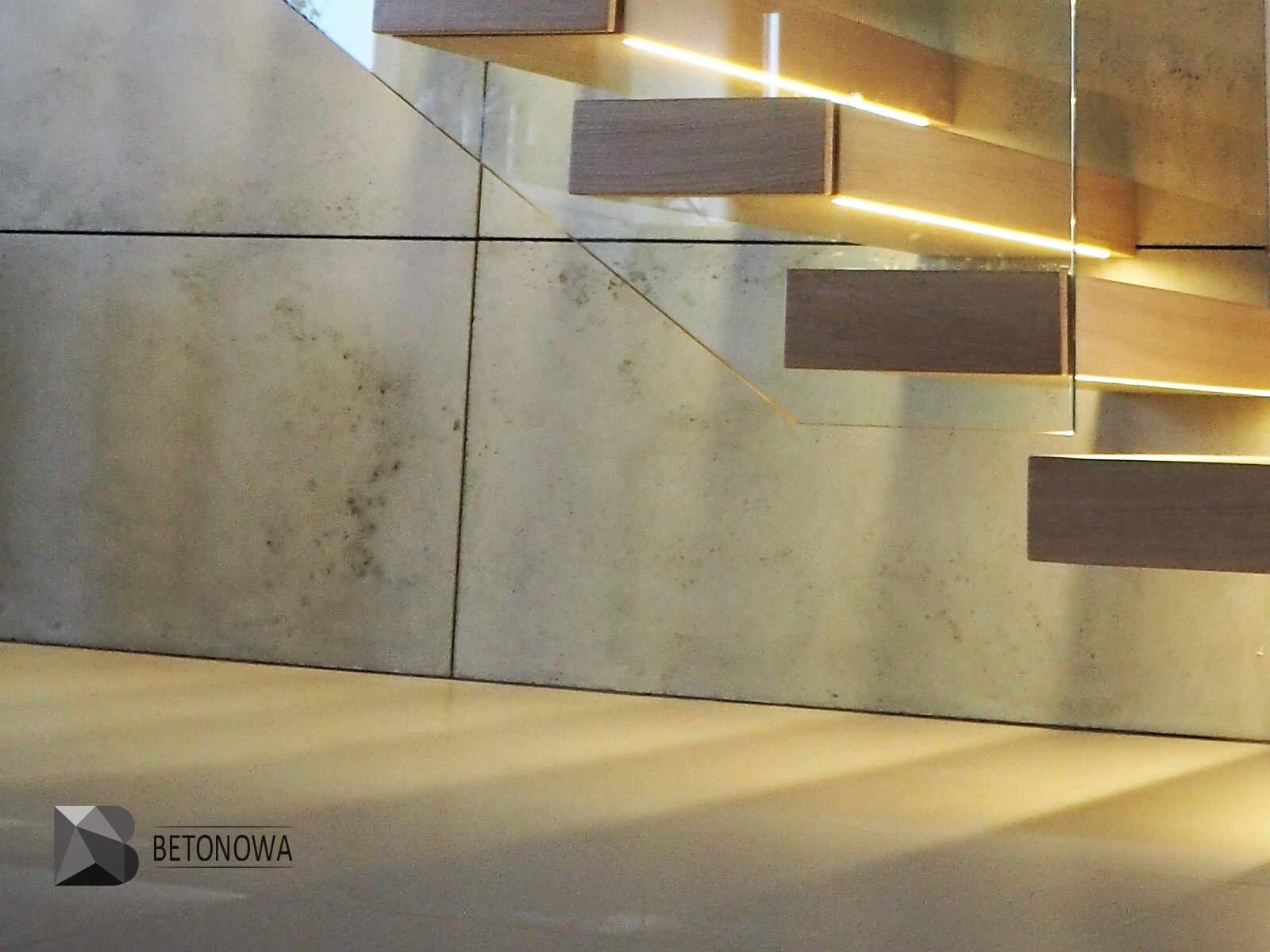 beton na cian w salonie azience biurze lub na elewacj. Black Bedroom Furniture Sets. Home Design Ideas