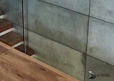 Schody Beton Architektoniczny Drewno Szklo Balustrady1