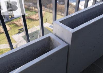 Donica Betonowa Na Balkon Lub Taras2