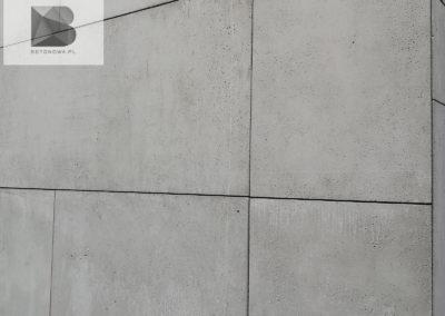 Plyty Betonowe Na Scianie Beton Architektoniczny