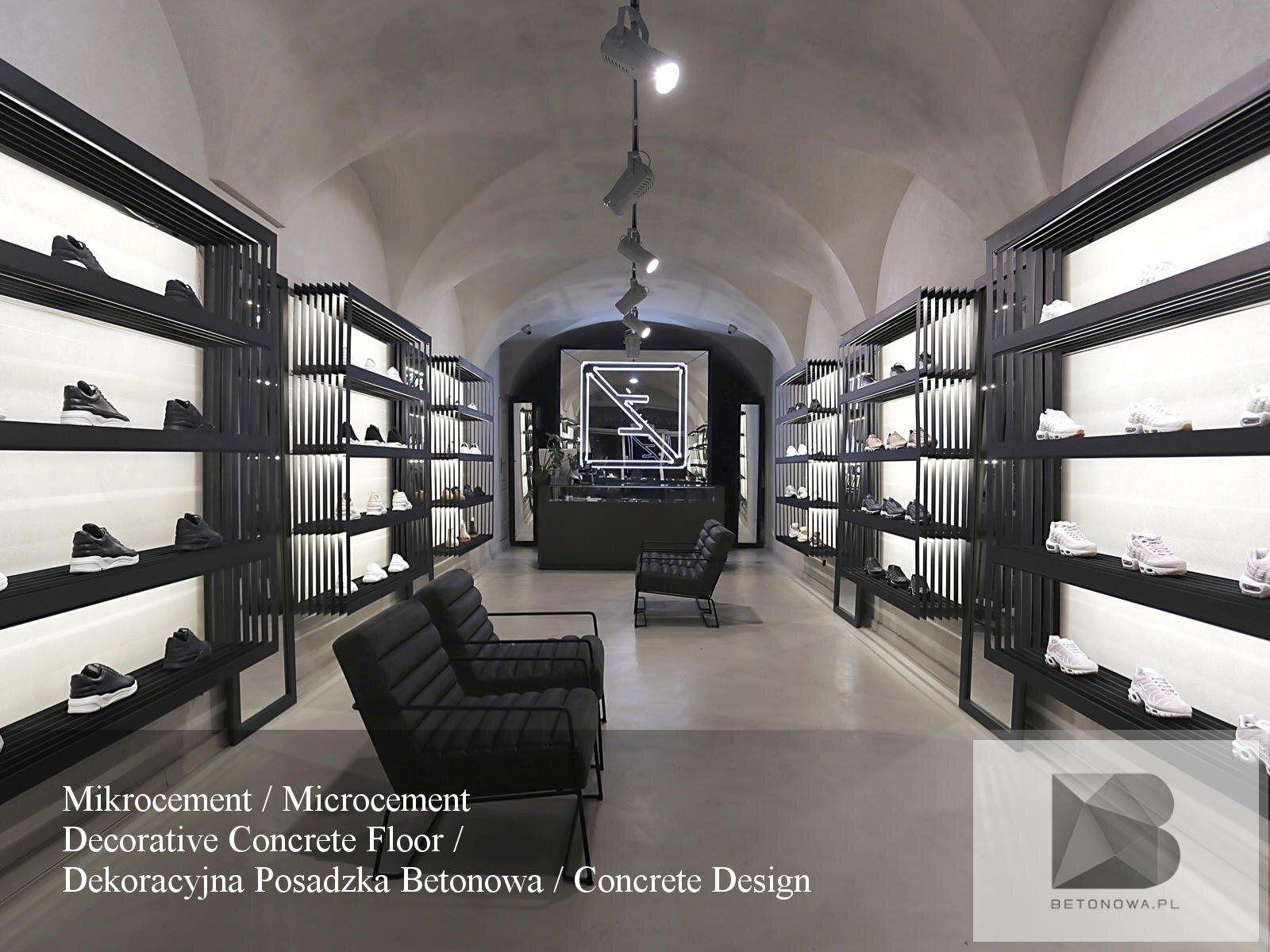 Posadzki Dekoracyjne Betonowe Mikrocement Sklep Krakow