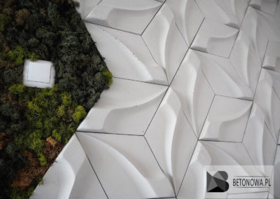 Beton Architektoniczny Bialy Plytki 3d
