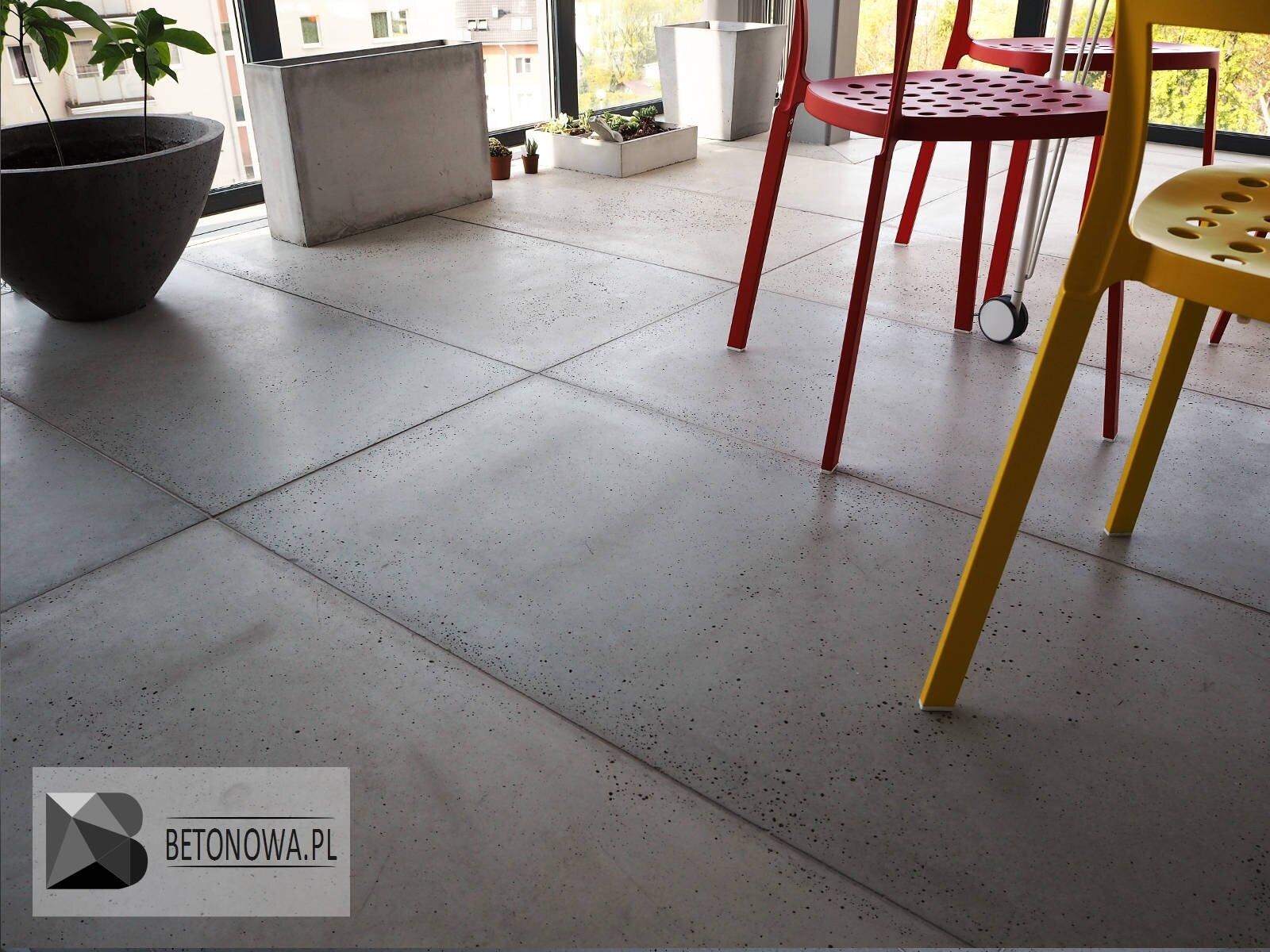Nietypowy Okaz Beton na podłogę, schody, blaty lub parapety | Betonowa.pl TP42