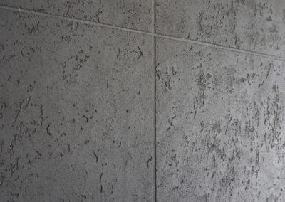 Betonowa Sciana W Salonie Beton Dekoracyjny Szary