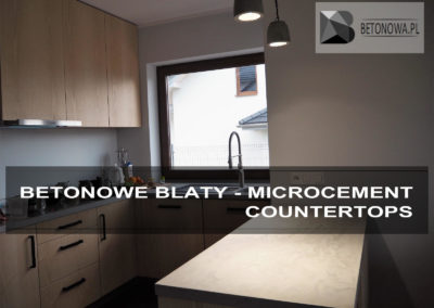 Blat Beton Architektoniczny Concrete Countertop Microcement6