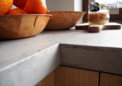 Blat Betonowy Mikrocement Concrete Countertop Microcement10