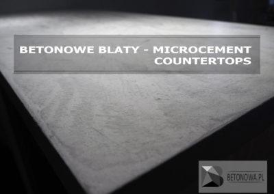Blat Betonowy Mikrocement Concrete Countertop Microcement11