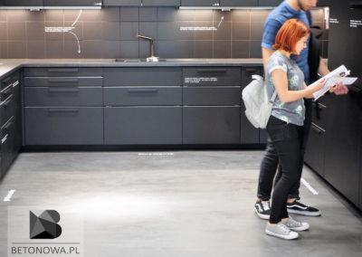 Kuchnia Edukacyjna Ikea Posadzka Betonowa Krakow