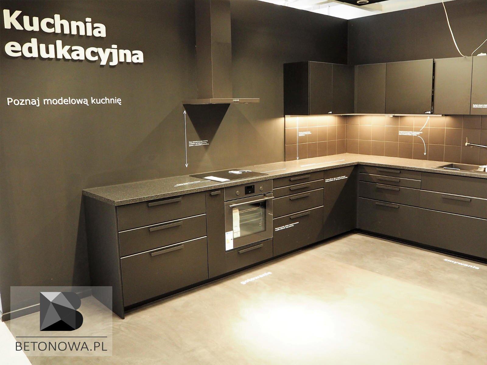 Kuchnia Edukacyjna Krakow Posadzka Dekoracyjna Betonowa