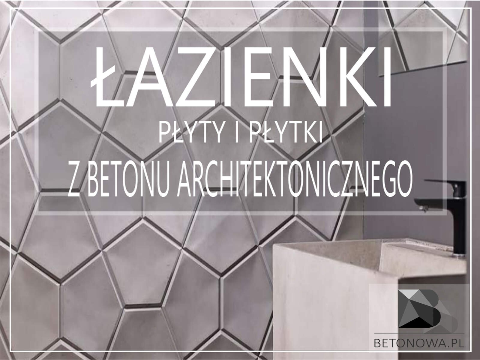Beton Architektoniczny W łazience Płyty Płytki Umywalki