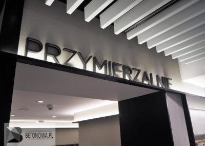 Sciany Dekoracyjne Sklep Warszawa Realizacja Betonowa