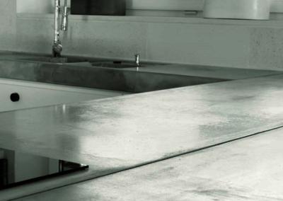 Blaty z betonu architektonicznego Kuchnia