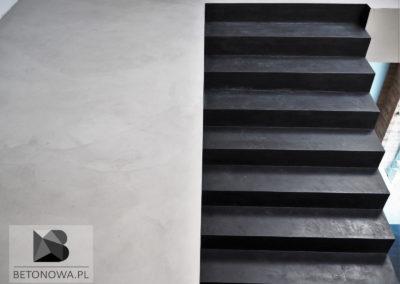 Posadzki Schody Betonowe Mikrocement Realizacja Gliwicesobieskiego