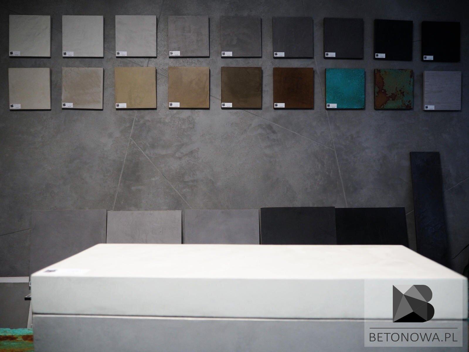 Fronty Betonowe Niepowtarzalna Struktura Kolor Beton