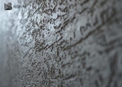 Beton Dekoracyjny Na Scianie Efekt Kornik1