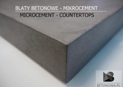 Blat Betonowy Mikrocement Kuchnia Lazienka Grafika